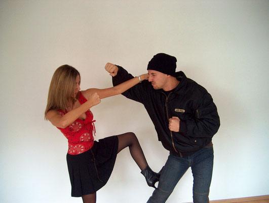Frauen Selbstverteidigung 6