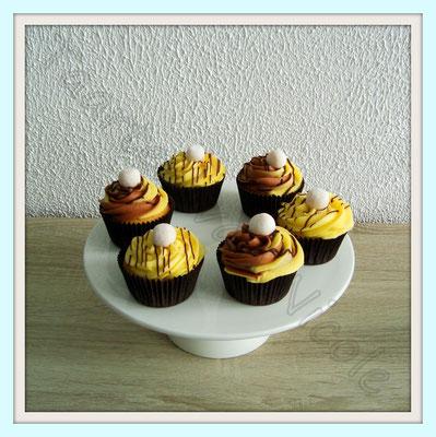 Feest - Banoffee cupcakes