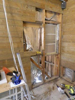 A new door to go in here