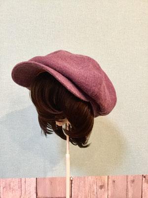 帽子がかぶれるウィッグ(メッシュタイプ)