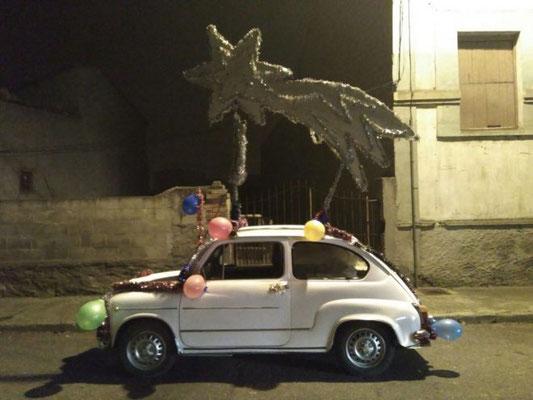 REYES MAGOS CABALGATA SEAT 600