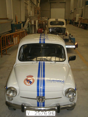 seat 600 real madrid