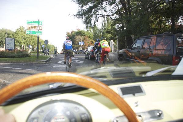 Celeste semana de la movilidad Madrid