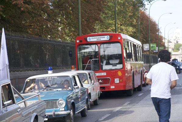 Antiguo autobús de la EMT Madrid