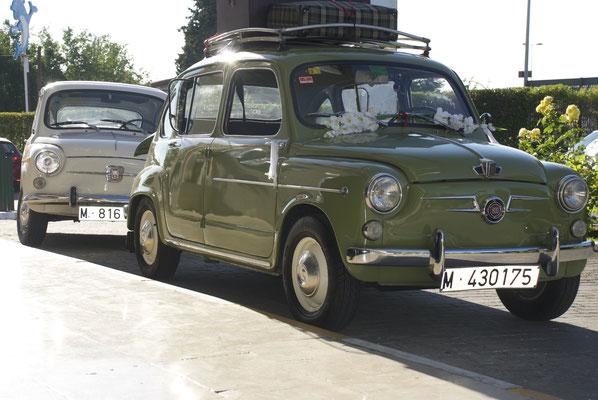 bodas madrid coche clásico 600