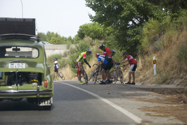 Madrid ciclistas clásica Otero