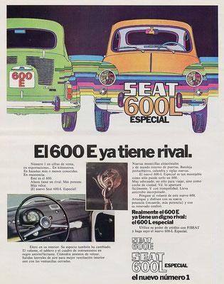 seat 600 e anuncio
