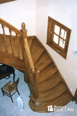 Menuiserie Roux et Fils spécialiste de l'escalier sur mesure