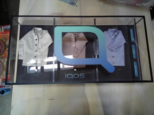 IQOS Duftbox. Konzept und Realisation Nolina applica GmbH