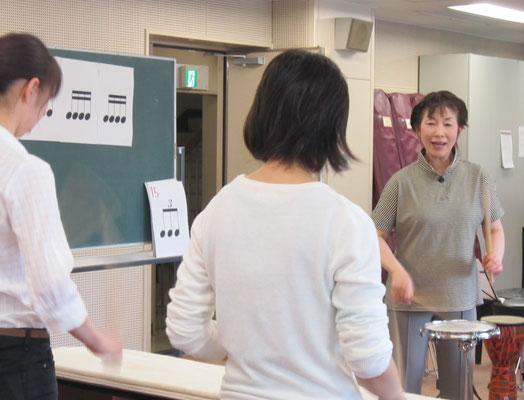 打楽器:山本真理子先生