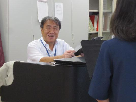 河野正幸先生(声楽・オペラ、ミュージカル)