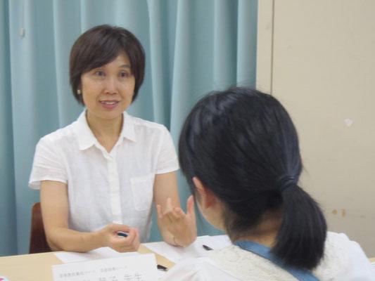 音楽教員養成コース:髙松晃子先生