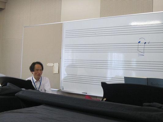 山田昌宏先生(器楽コース・ピアノ)