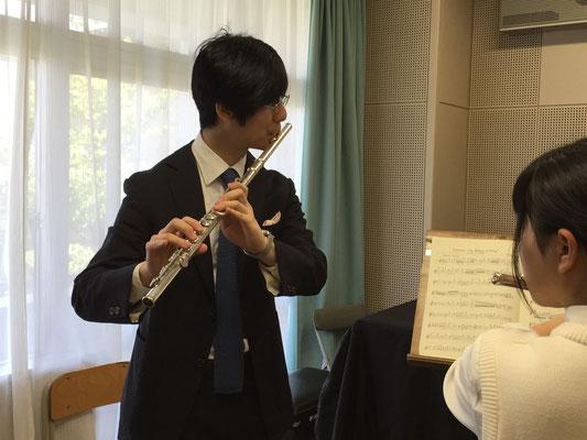 北川森央先生(フルート)