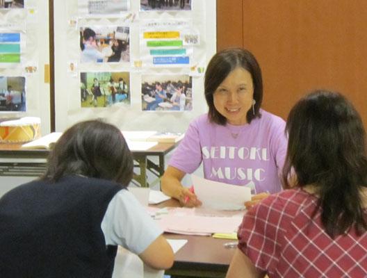 音楽教員養成コース・音楽指導コースの髙松晃子先生