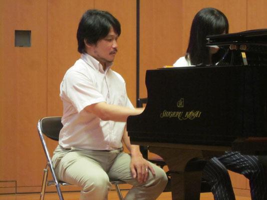 鳥井俊之先生のピアノレッスン