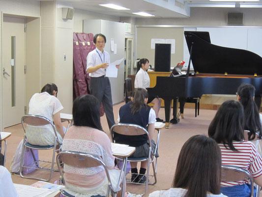山田昌宏先生(器楽コースピアノ専修)