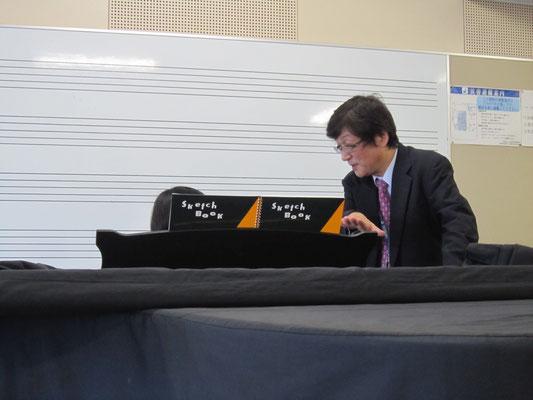 原佳之先生(ピアノ)