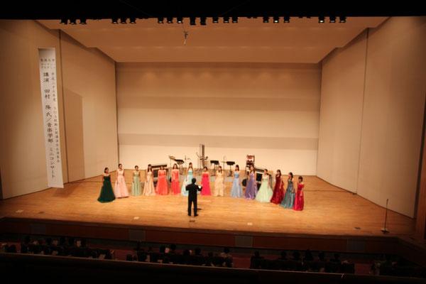 無伴奏女声合唱のための《七つの子ども歌》より 信長貴富 編曲(聖徳大学音楽学部合唱団、河野正幸先生指揮)