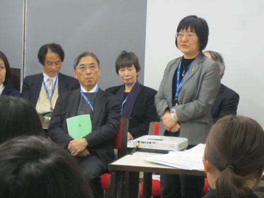 音楽療法コースの廣川恵理先生。
