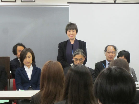 器楽コース弦楽器・管打楽器専修(打楽器)の山本真理子先生。