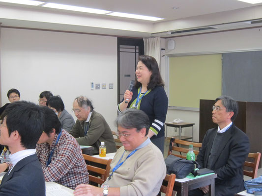 第九の独唱者としての経験豊富な島崎智子先生。