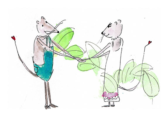 Otto & Eulalia, Kinderbuchillu