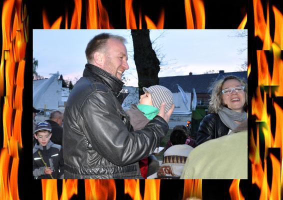 Andrea Weinke-Lau, Verein Groß Laasch Flexibel e.V., Walpurgisnacht