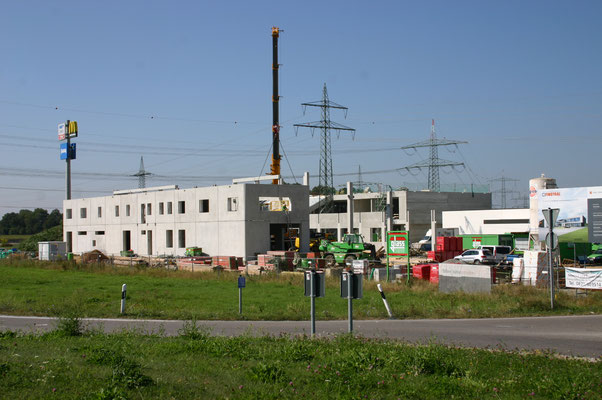 Bau Stadtbäckerei Scharold