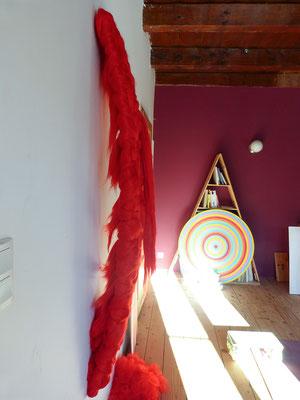 Textile sculpture - Vegan Art - Sylvie Martin Rodriguez