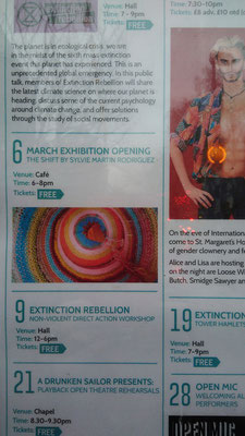 The Shift Exhibition - London - Sylvie Martin Rodriguez - Vegan Art