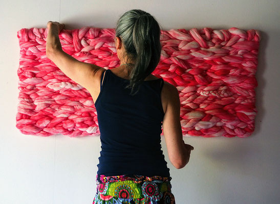 Vegan Art - Fiber art - Sylvie Martin Rodriguez