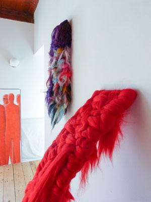 Sculpture textile - Vegan Art - Sylvie Martin Rodriguez
