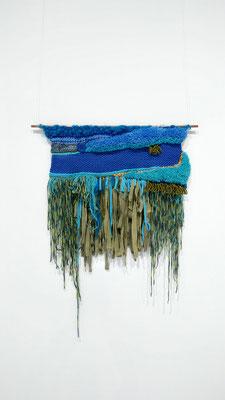 Textile art - Vegan Art - Sylvie Martin Rodriguez