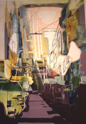 Liquid Room Nr.3, 2004, Öl auf Leinwand, 170 x 120 cm