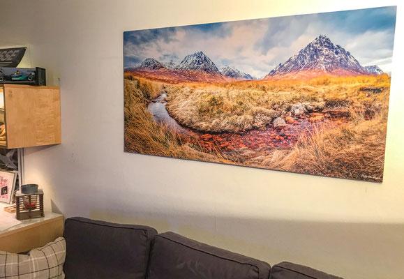 1,5 Meter x 73 cm, auf 5 mm Forex
