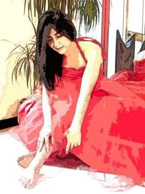 Sposa in rosso