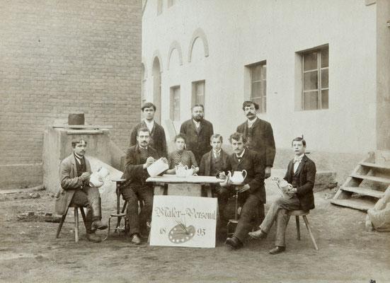 Malerpersonal 1895