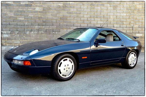Mein Schatz: Porsche 928 S4, 1989