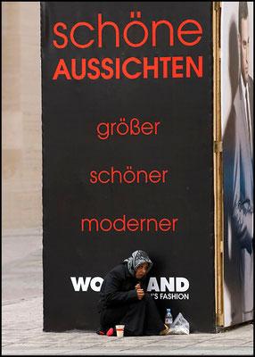 Die Zeil in Frankfurt - umsatzstärkste Fußgängerzone in Europa