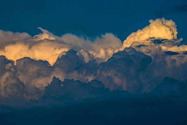 Gewitterwolken über Bad Bentheim