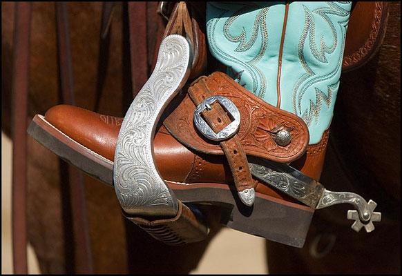Cowgirl, der Rest sah nix aus!