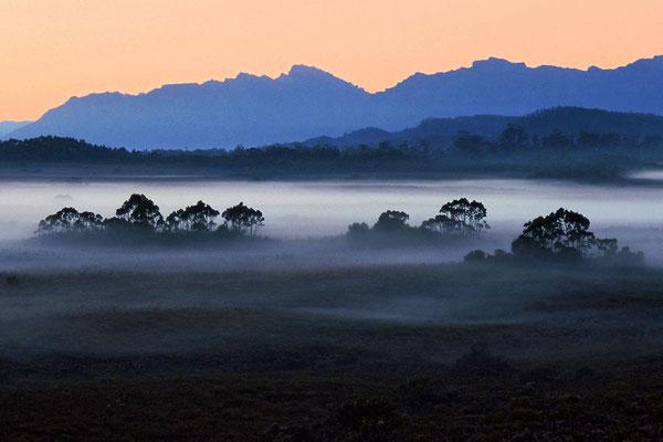 Huon River, Tasmanien, Scan vom Diafilm