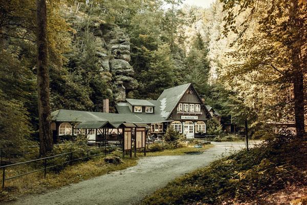 """Gasthaus """"Waldidylle"""", Sächsische Schweiz"""