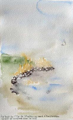 Pointe de l'île de Marken