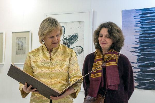 lecture du livre Un chant pour la terre avec Roselyne Sibille, poète