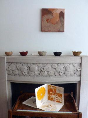 peinture,coupes et livre d'artiste de Yannick Charon