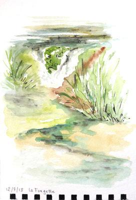 La rivière Fougette