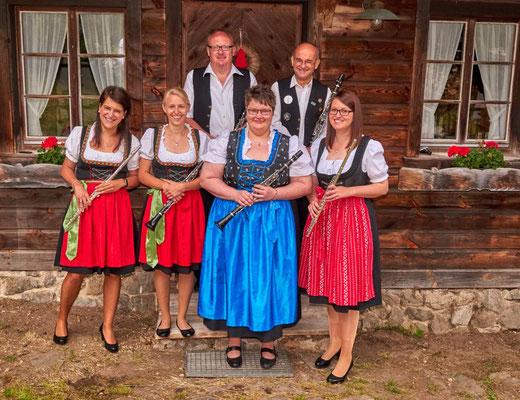 Das Holsregister: Markus, Hubert, Ramona, Lisa, Christine, Svenja
