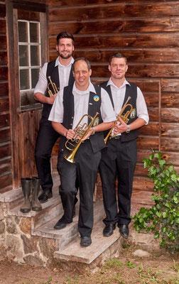 Die Trompeten: Marius, Markus, Jackob